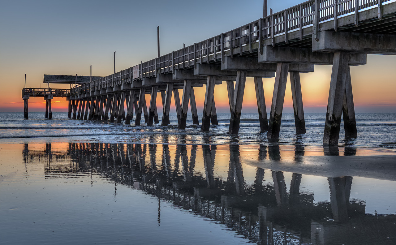 Pier at Tybee Island  http://sillymonkeyphoto.com/2013/06/21/friday-mystery-photo-57/